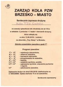 Zaproszenie Brzesko 2015